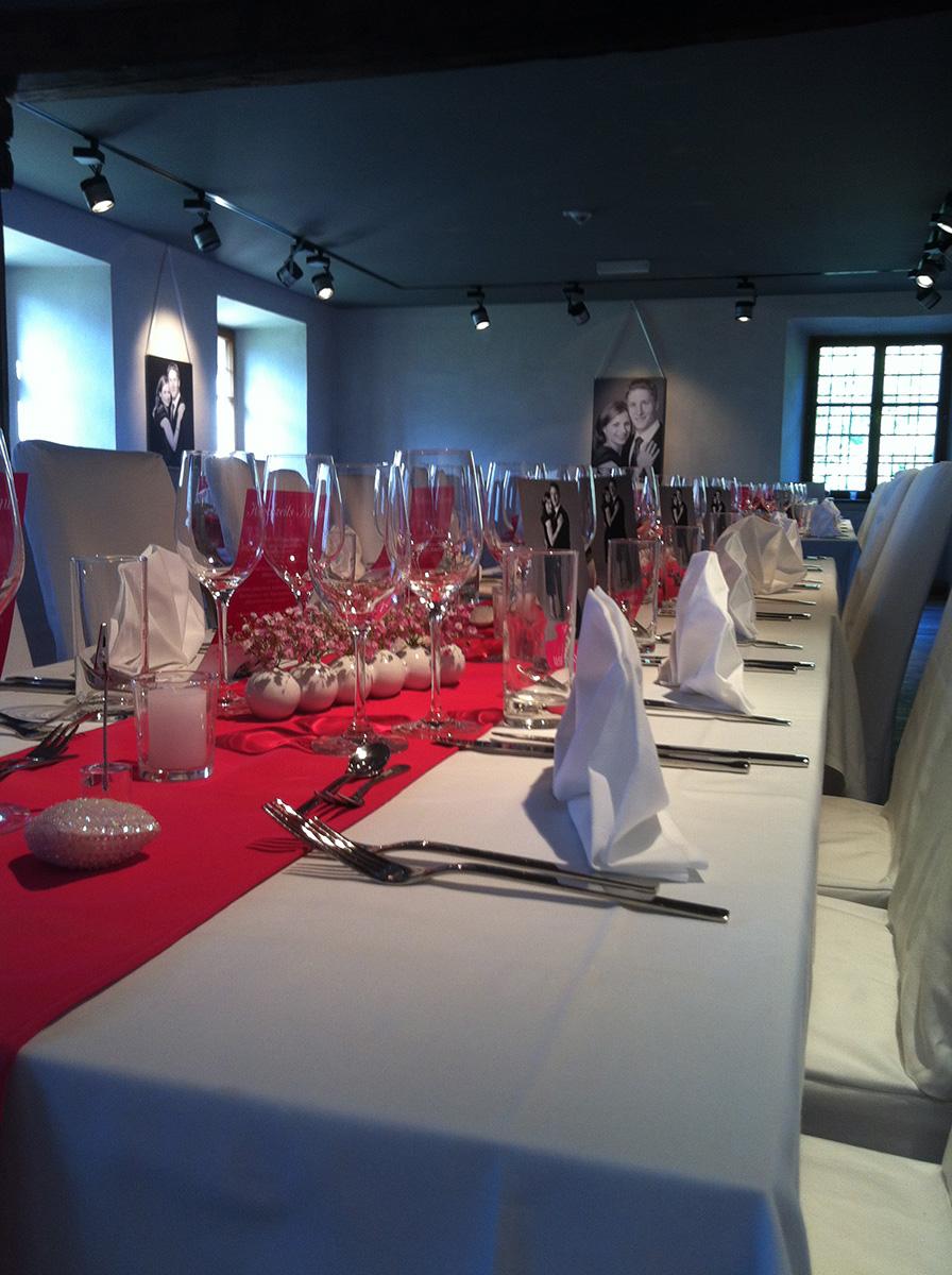 Tische & Hochzeiten